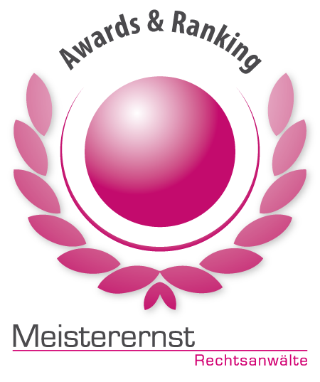 Awards and Ranking Meisterernst
